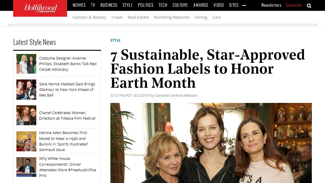 7 Sustainable, Star-Approved Fashion Labels to Honor Earth Month