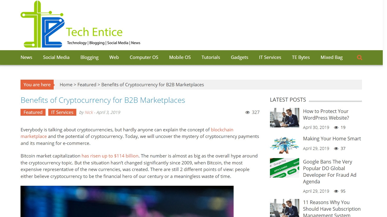Benefits of Cryptocurrency for B2B Marketplaces Benefits of Cryptocurrency for B2B Marketplaces