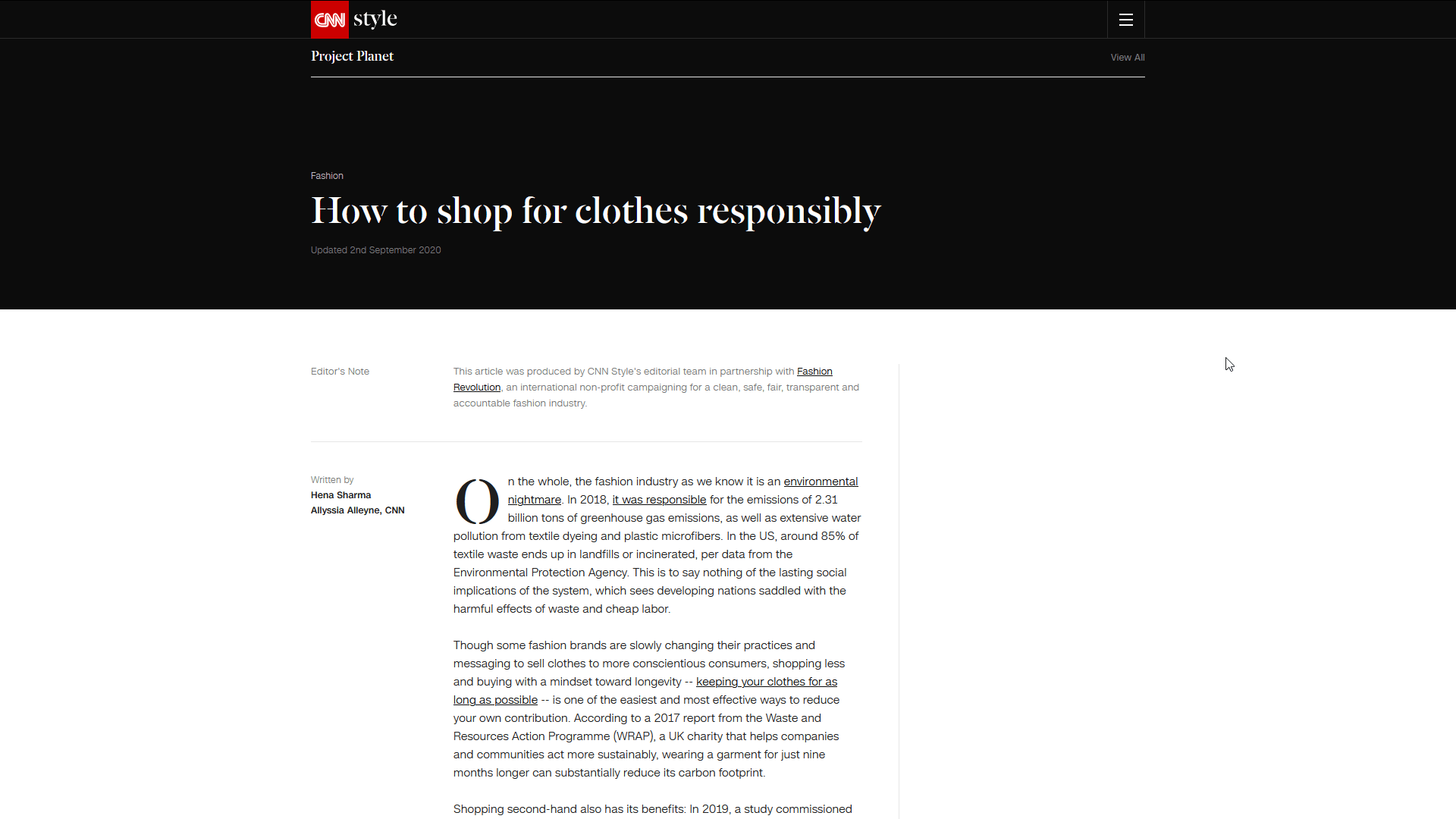 How to shop for clothes responsibly